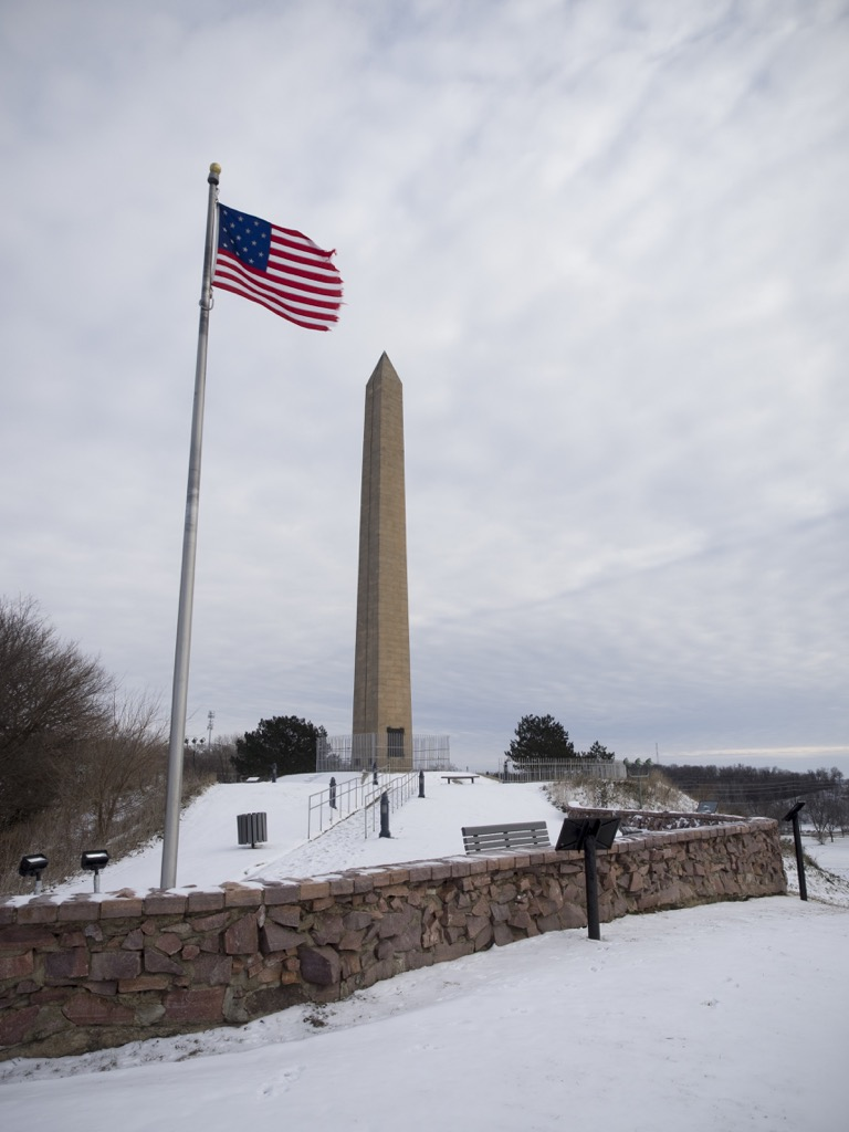iowa sergeant floyd monument most historic location every state