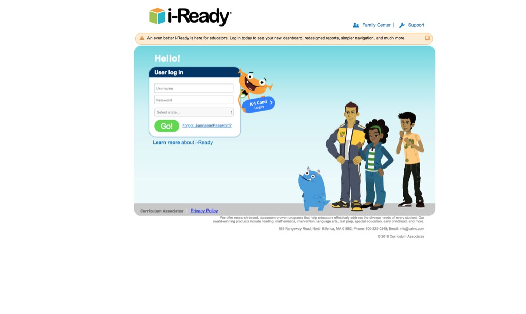 iready website most popular web search in every state