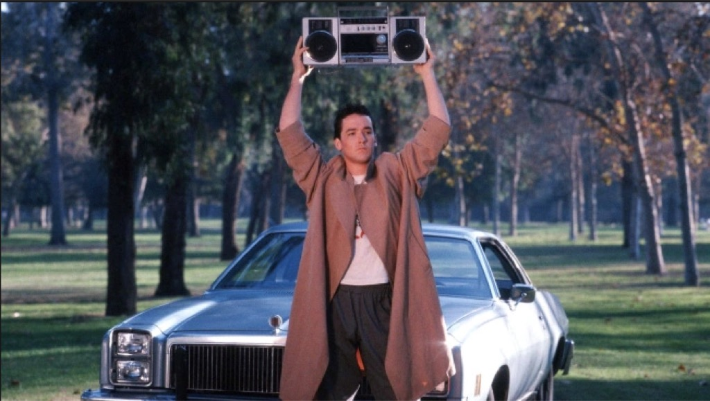 """john cusack boombox scene in """"say anything"""""""