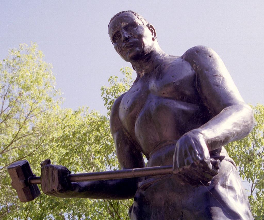 john henry the biggest folk hero in every state