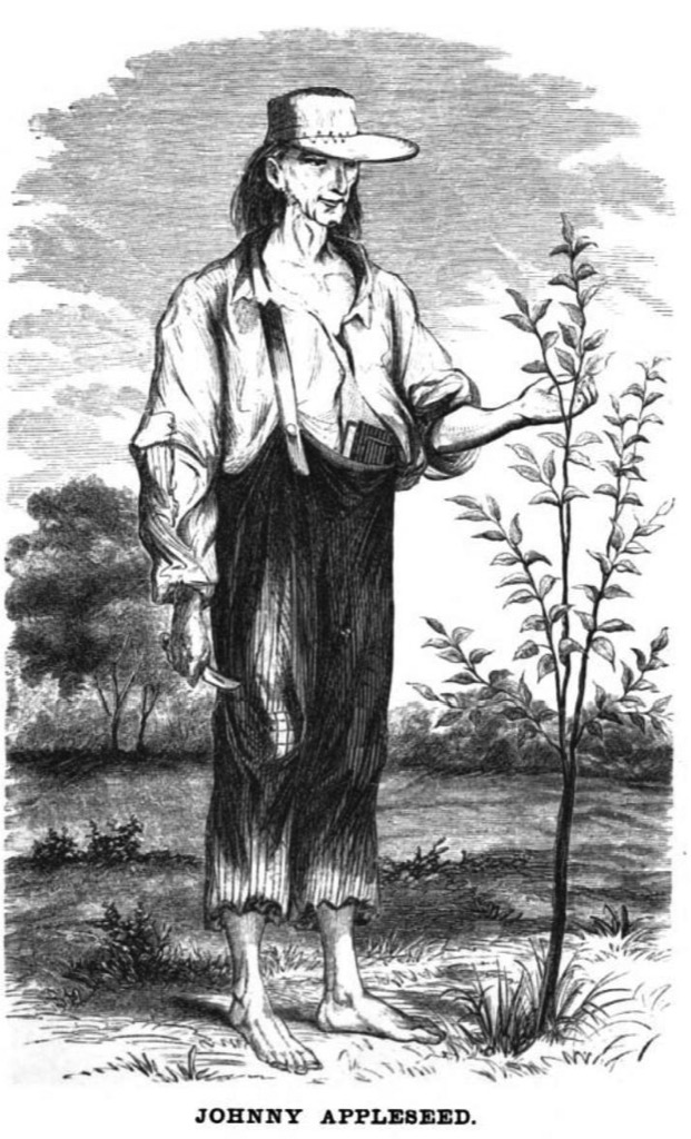 johnny appleseed the biggest folk hero every state