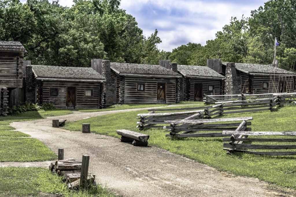 kentucky fort boonesborough most historic location every state