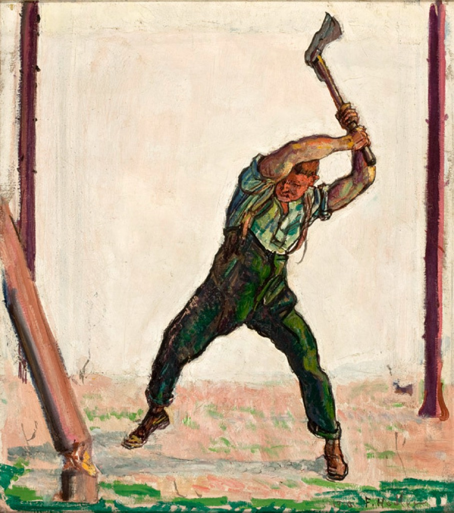lumberjack the biggest folk hero every state