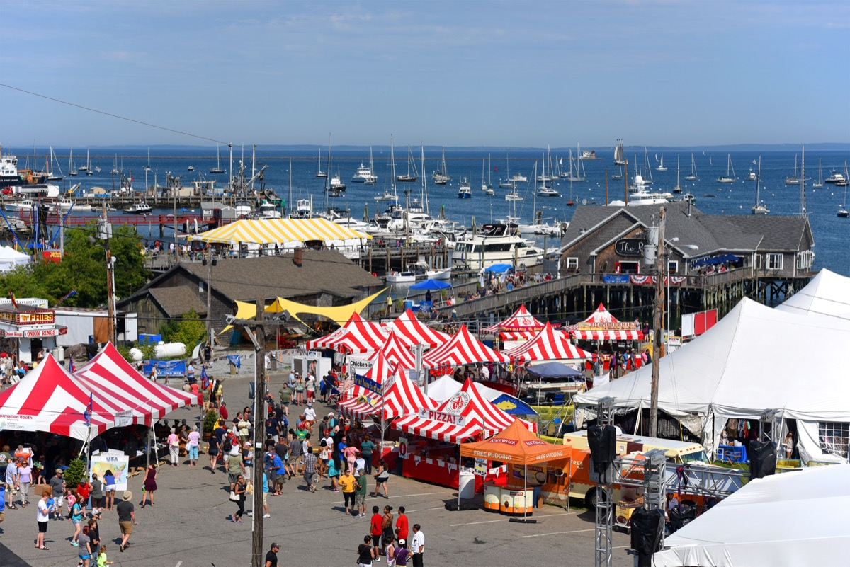 rockland maine lobster festival