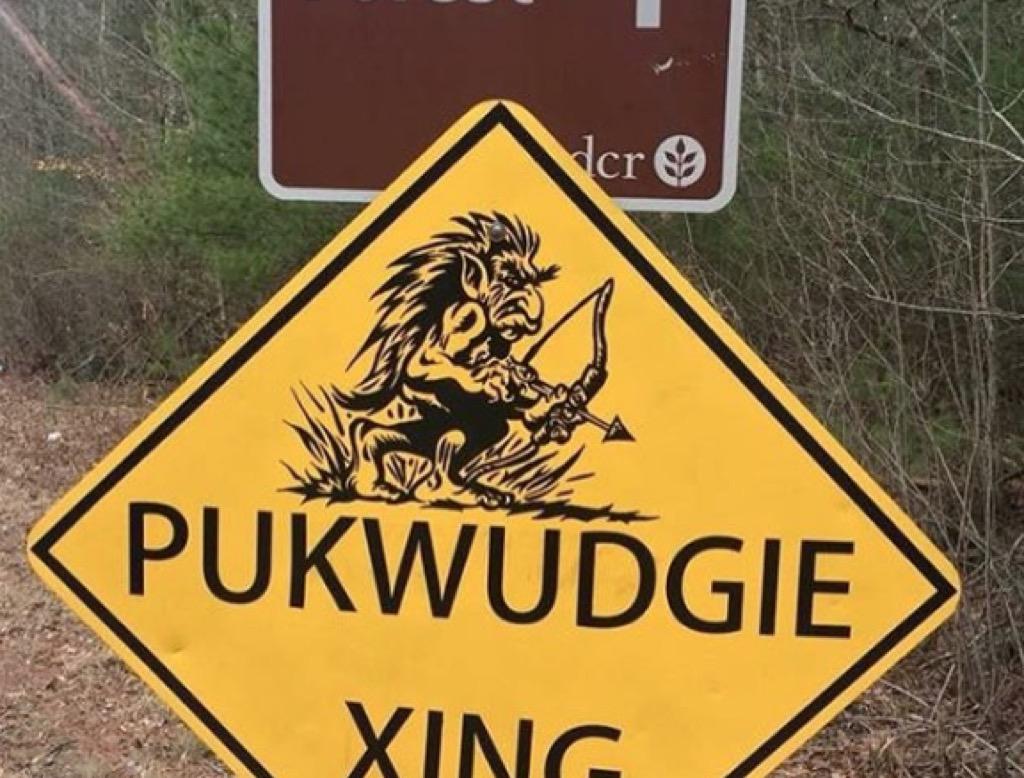 massachusetts pukwudgie sign weirdest urban legends every state