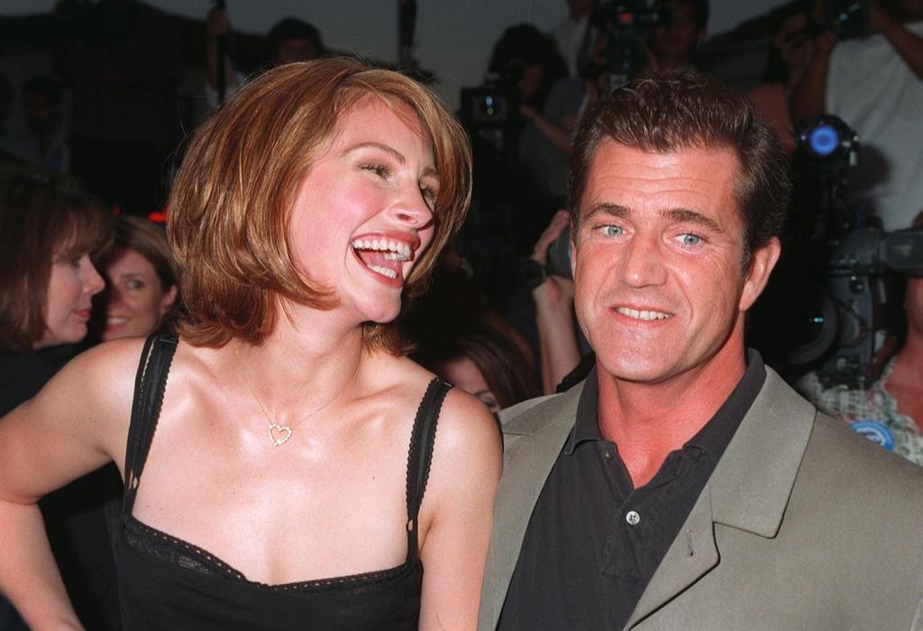 Mel Gibson Julia Roberts, tall celebrities
