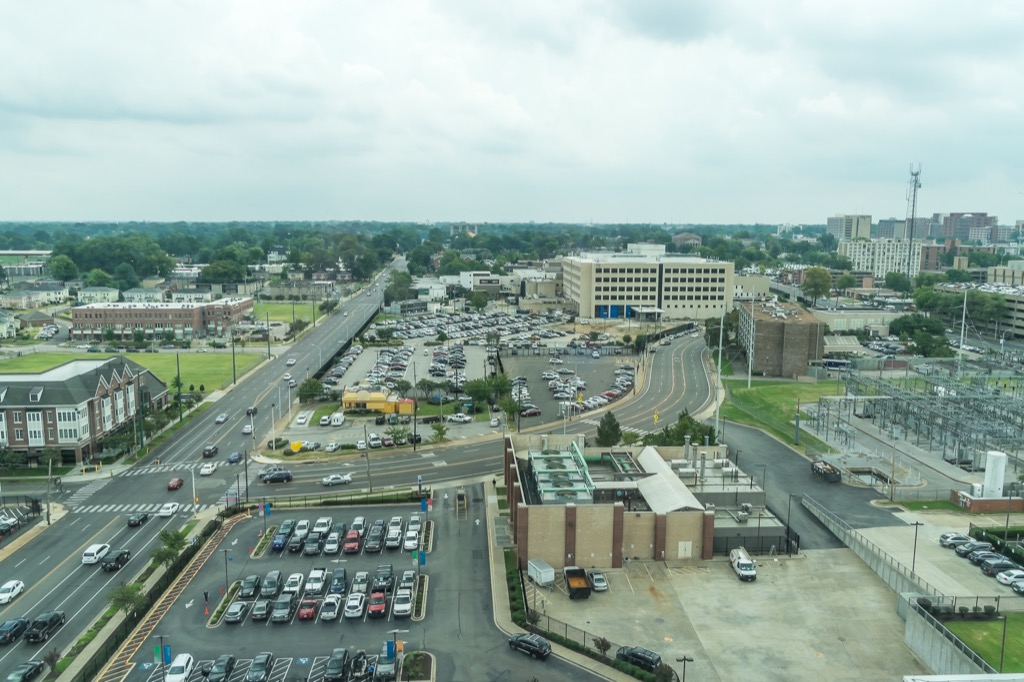 memphis tn worst cities to drive in