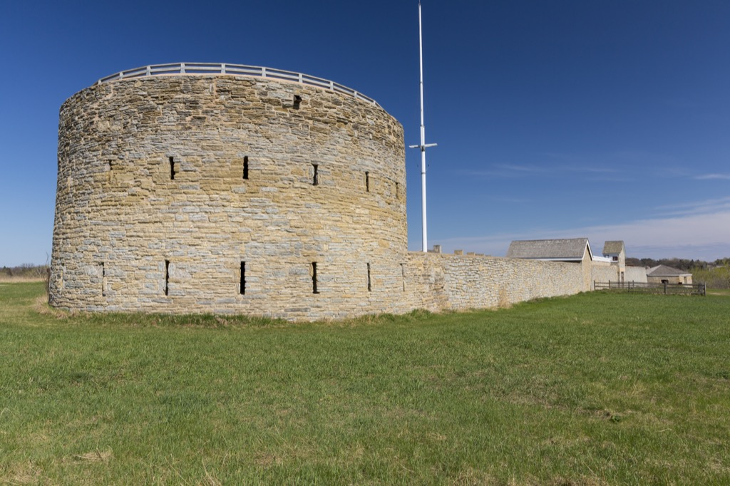 minnesota fort snelling most historic location every state