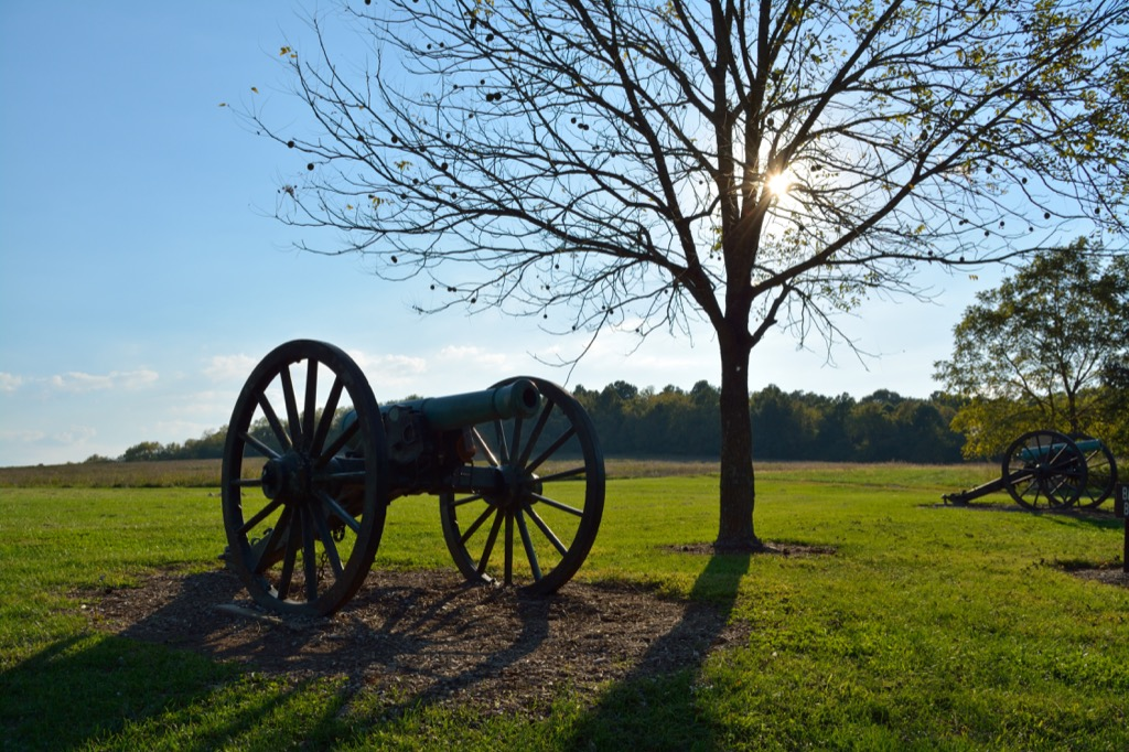 wilsons creek national battlefield most historic location every state