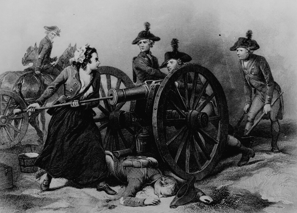 molly pitcher the biggest folk hero every state