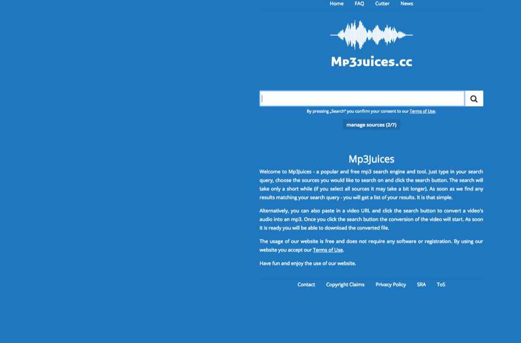 mp3juices website most popular web search in every state