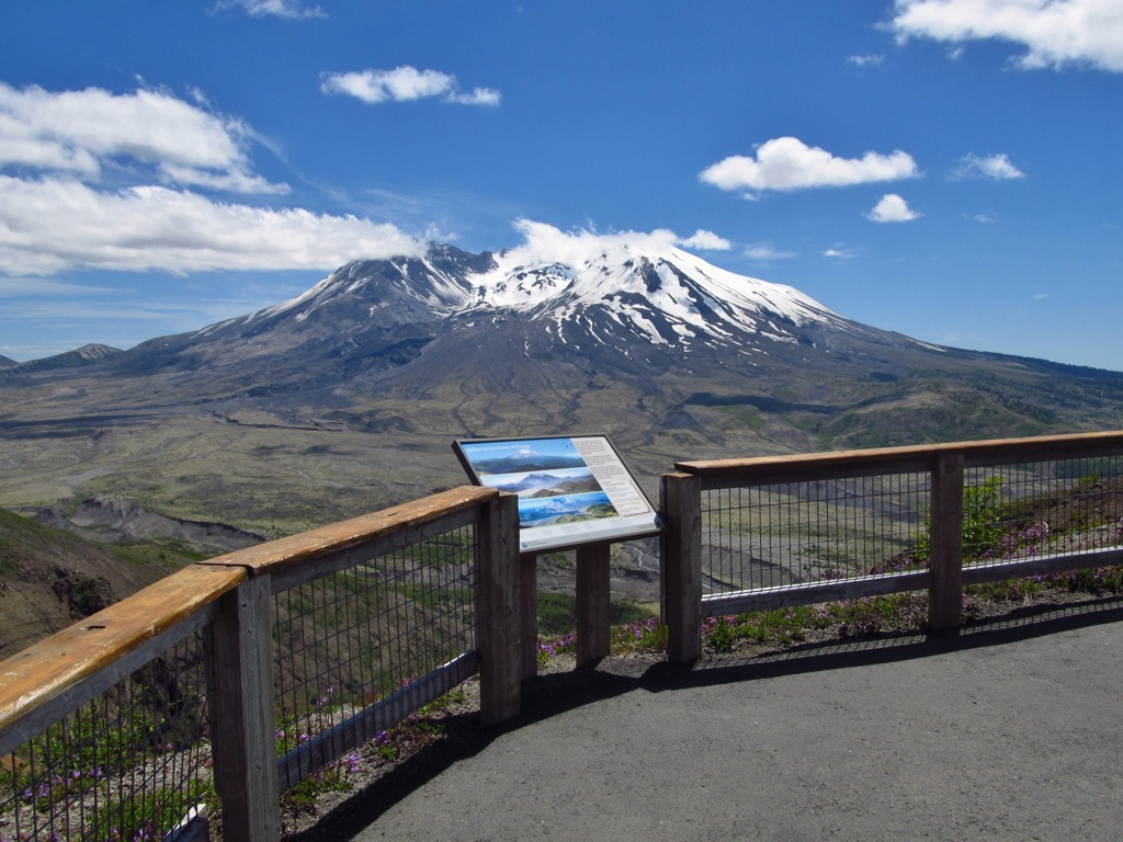 mt st helens volcanic monument most historic location every state