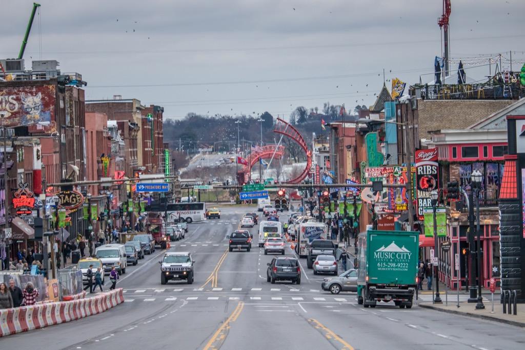 nashville tn worst cities to drive in