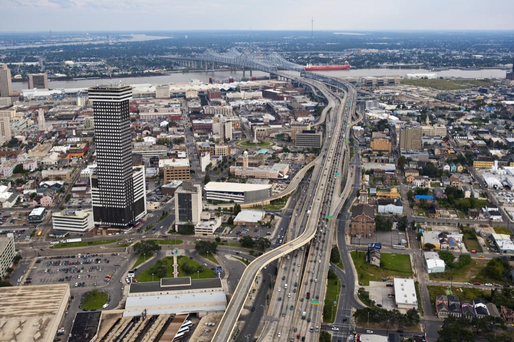 new orleans worst cities to drive in