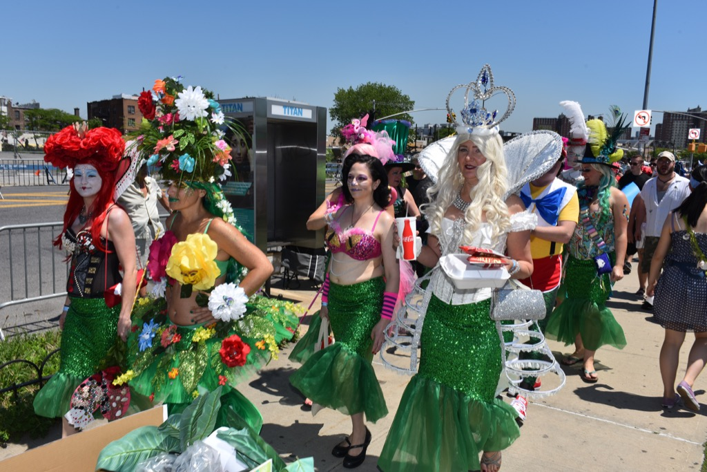 new york mermaid parade, weird summer traditions