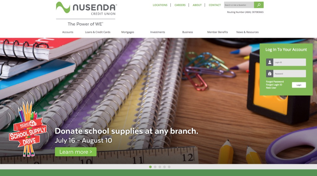 nusenda website most popular web search in every state