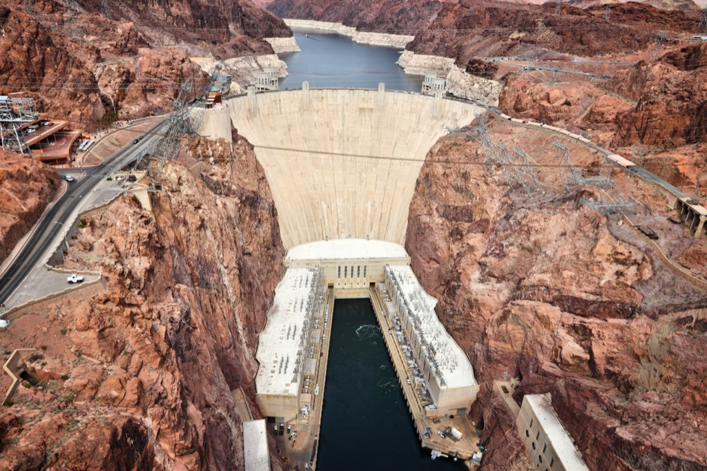 nevada hoover dam most historic location every state
