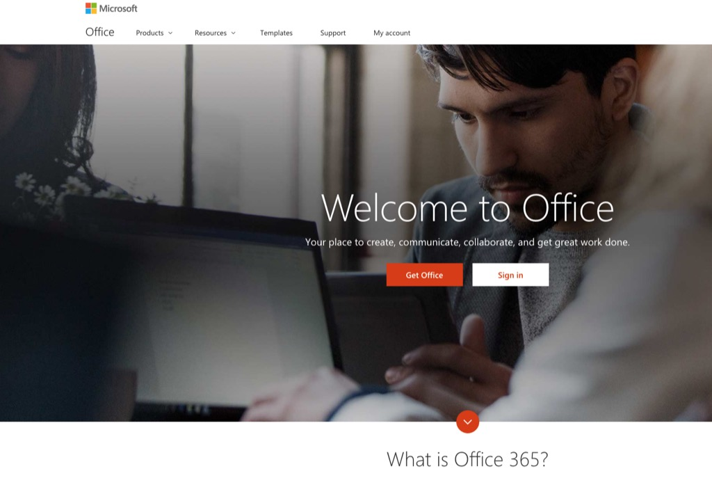 office 365 most popular web search in every state
