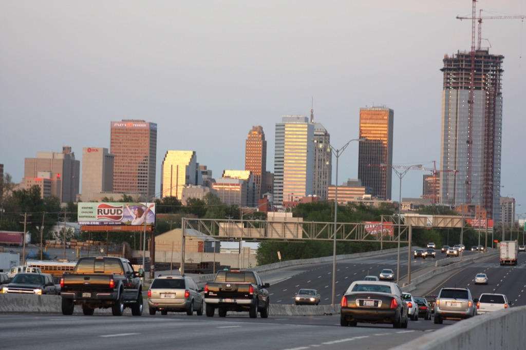 oklahoma city ok worst cities to drive in