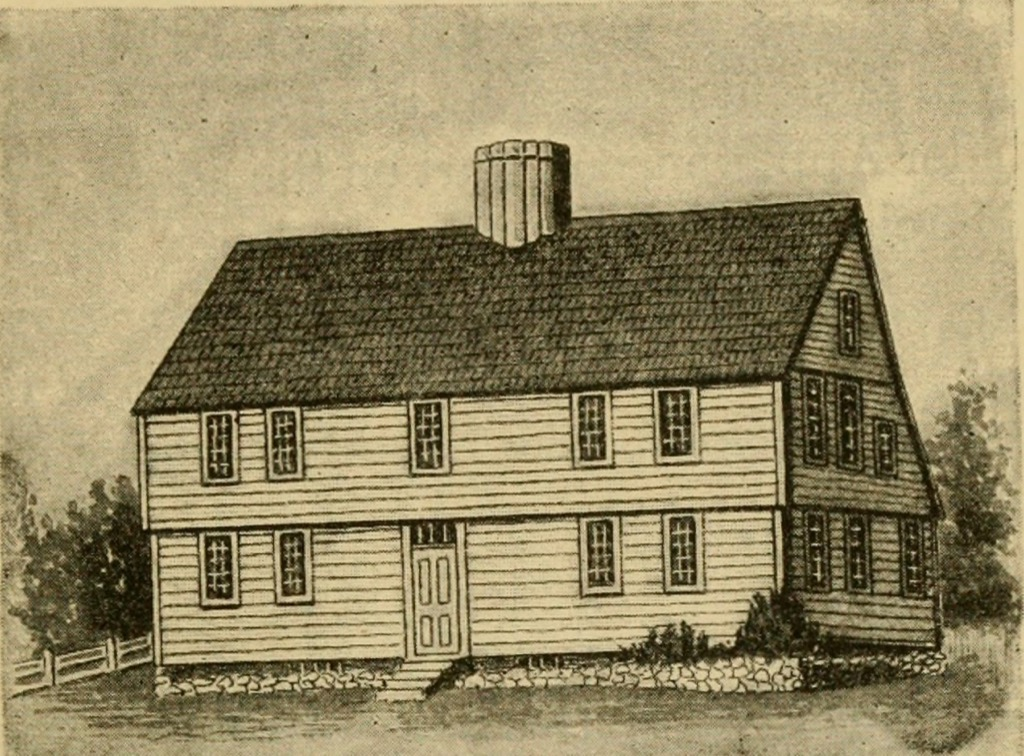 old drawing of a home the biggest folk hero every state