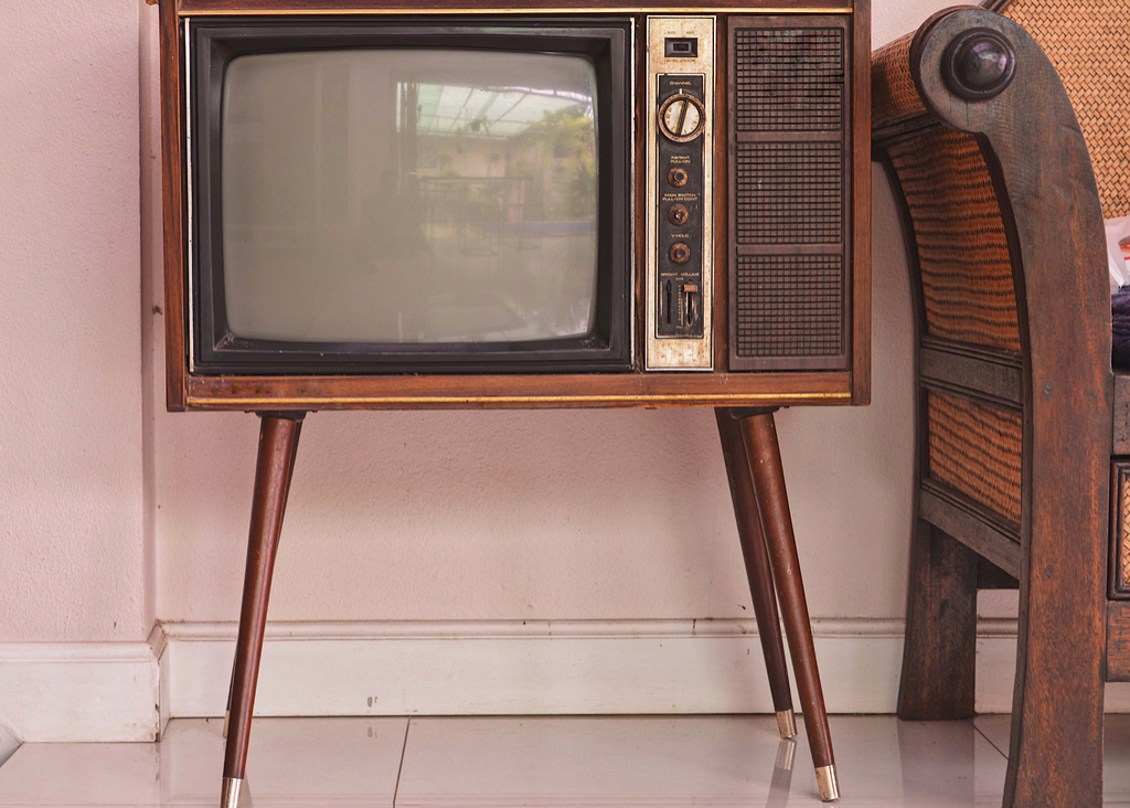 Old Television Set most groundbreaking invention in every state