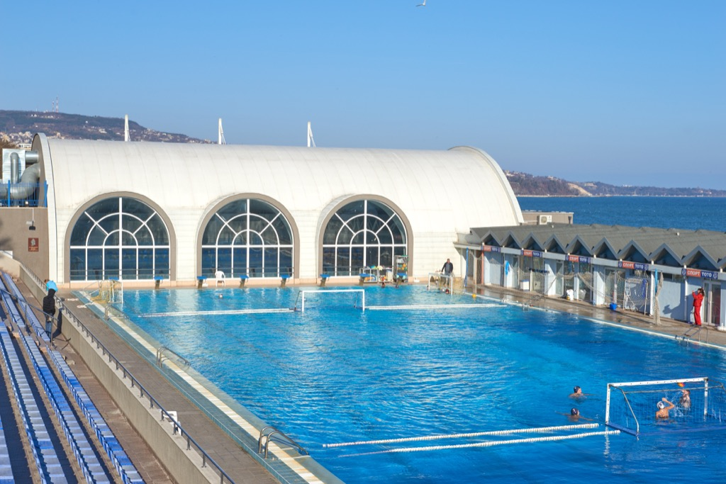 Olympic-sized pool