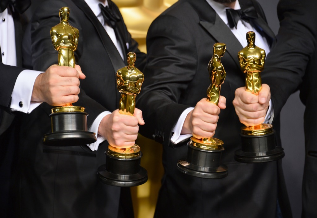 academy awards on stage at the oscars