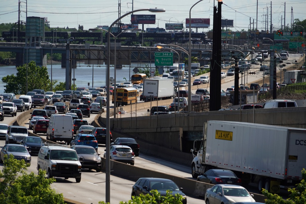 philadelphia pa worst cities to drive in
