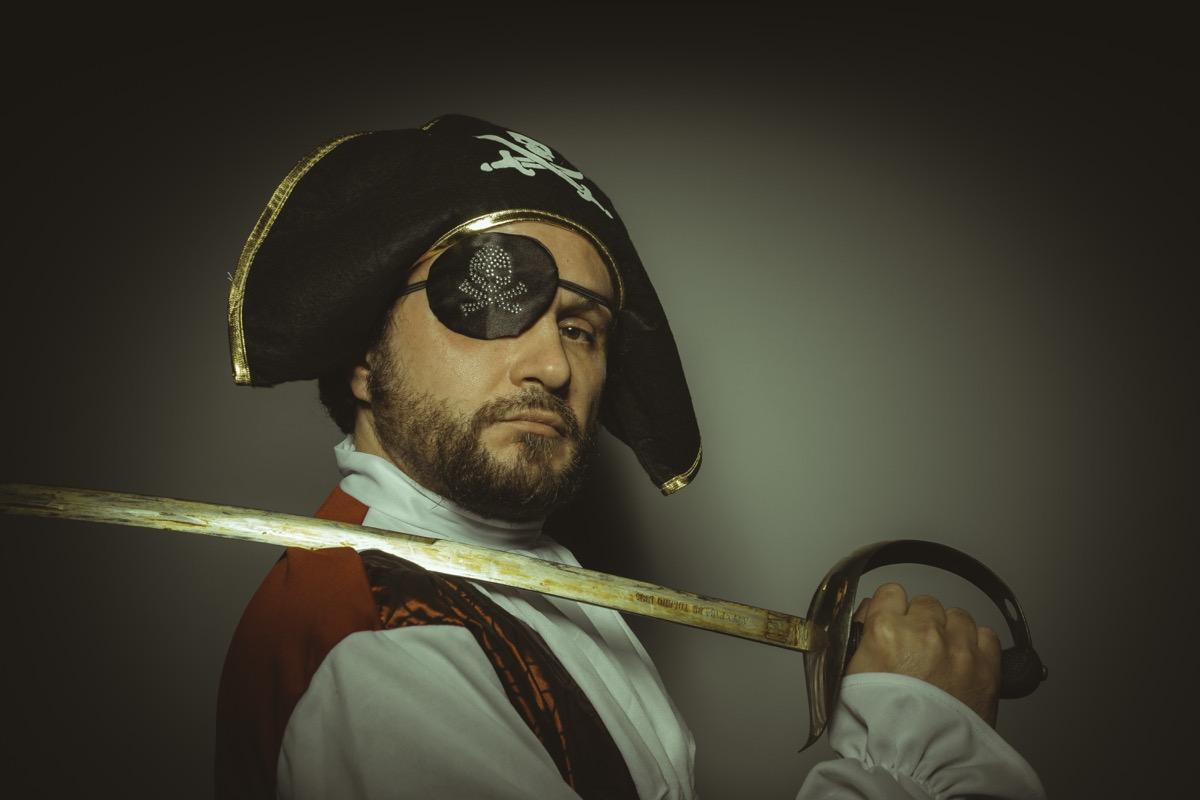 argh this be a pirate cap'n