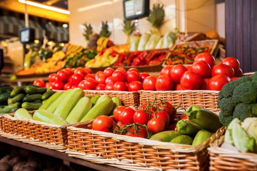 produce shelf {Bad Costco Bargains}