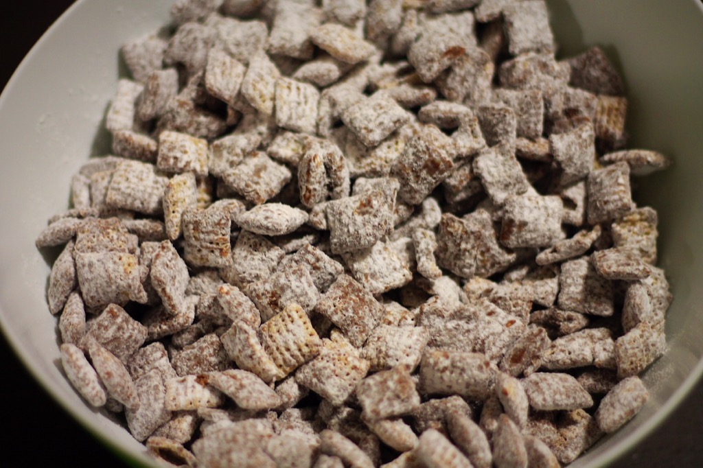 Puppy chow, chex, food, snack