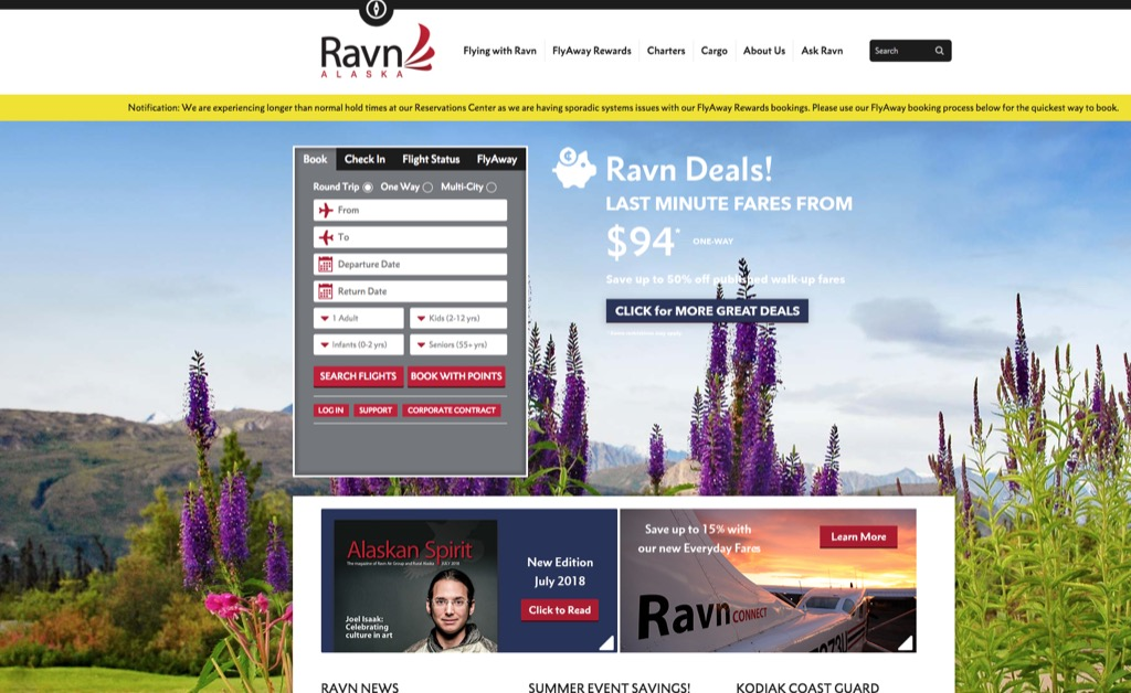 ravn most popular web search every state