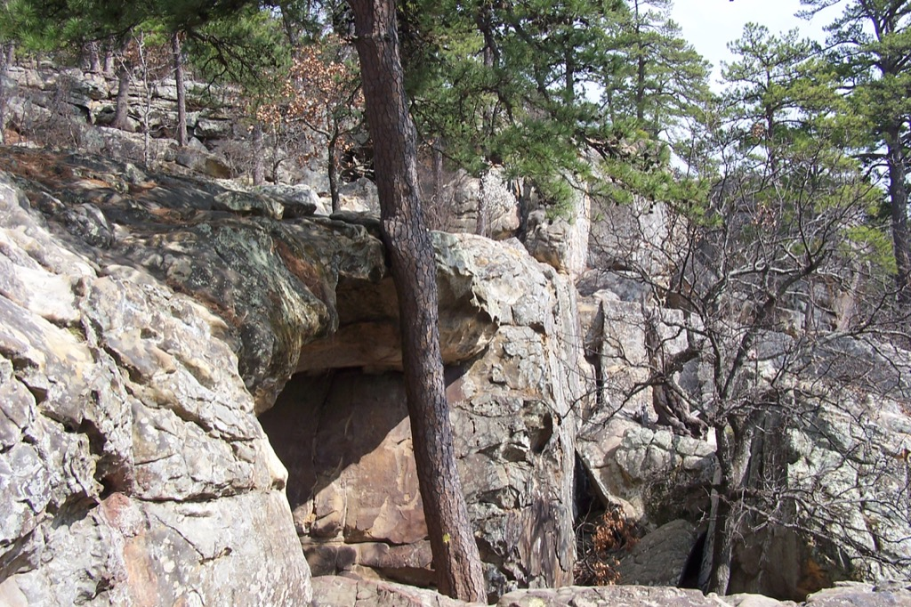 robbers cave oklahoma most historic location every state