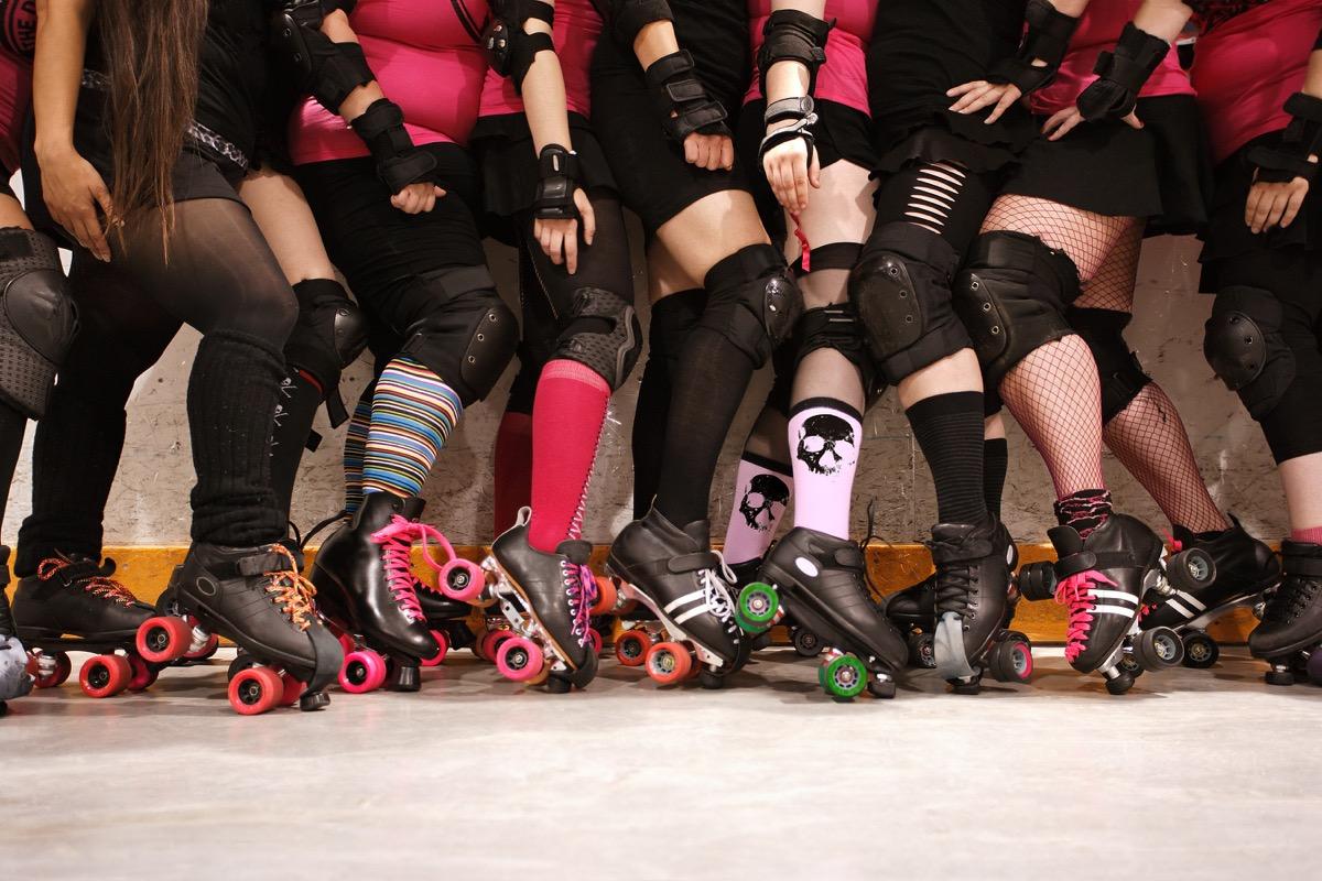 roller derby contestants