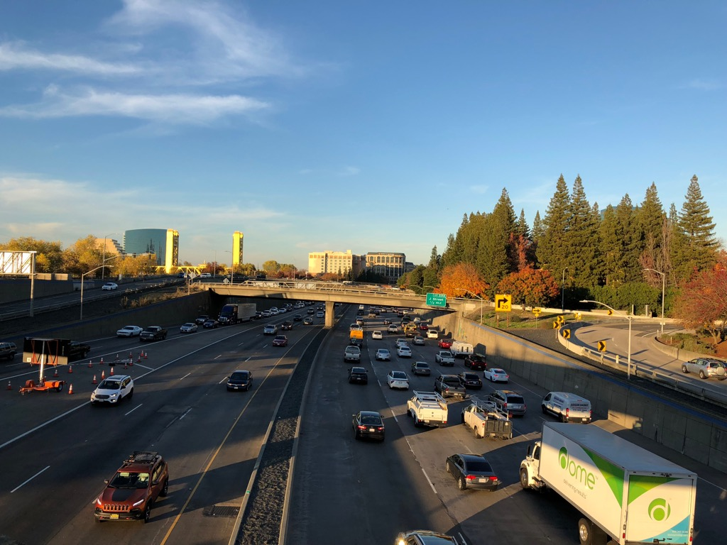 sacramento ca worst cities to drive in