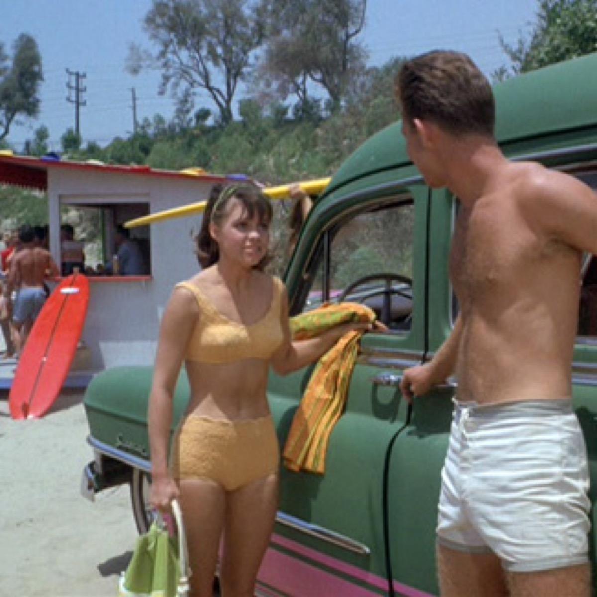 sally field gidget bikinis