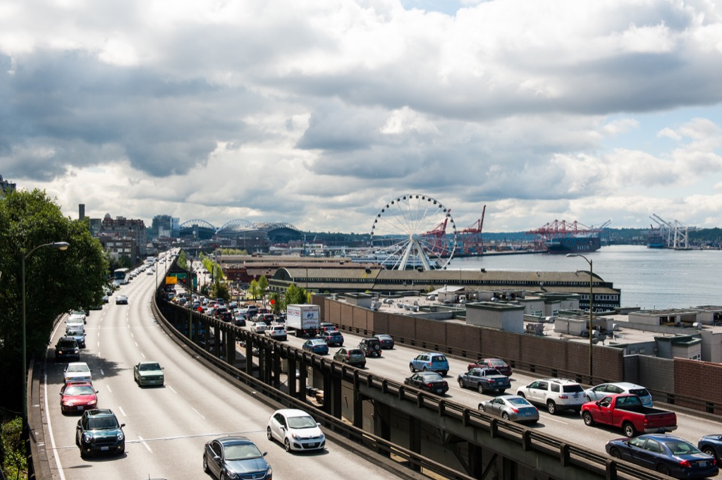 seattle wa worst cities to drive in