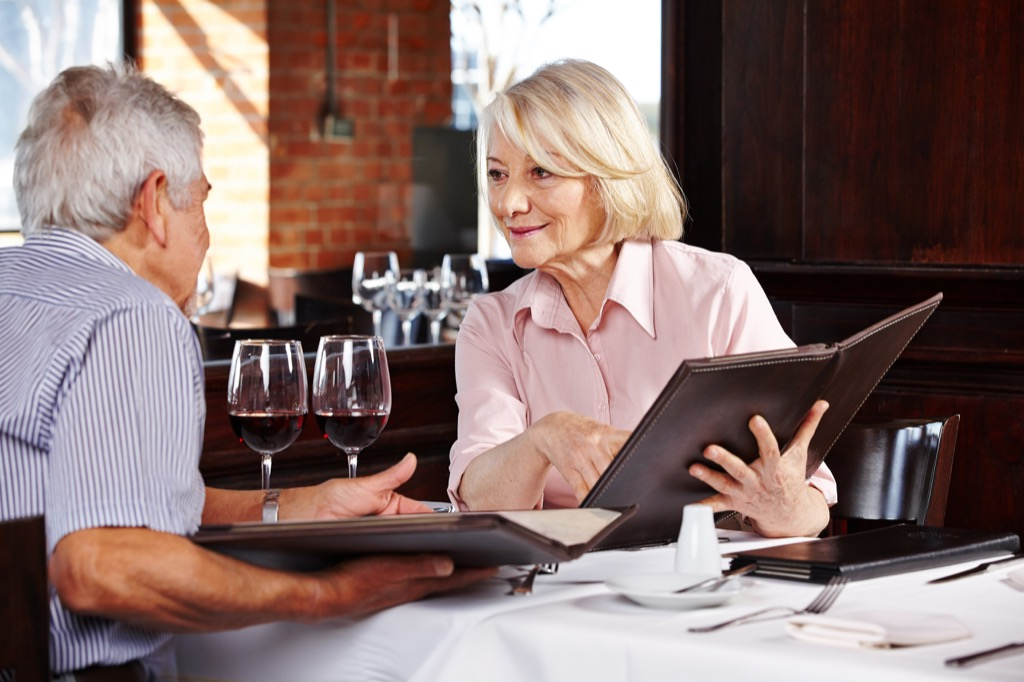 old people eating advice you should ignore over 40