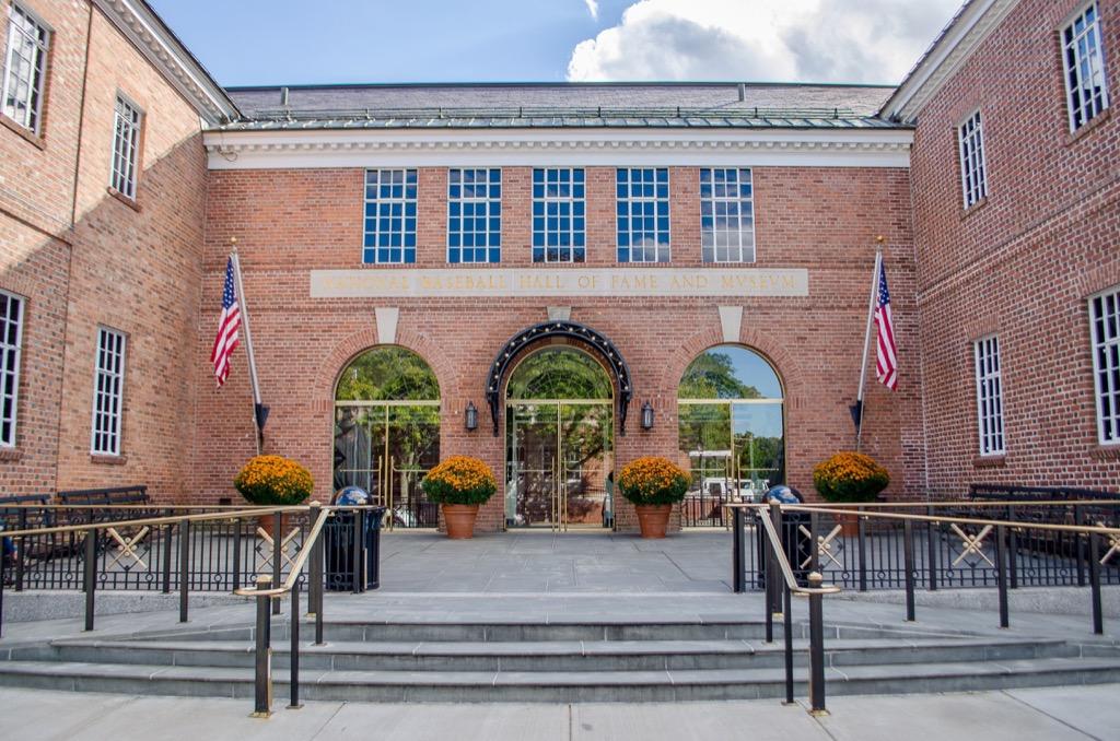 Baseball Hall of Fame exterior