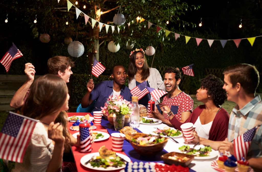 friends at a fourth of july cookout july fourth traditions