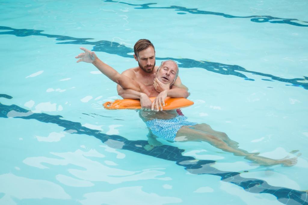 drowning, lifeguard