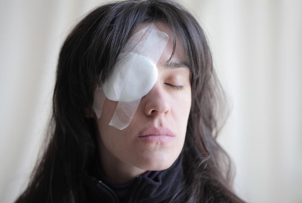 eye bandage