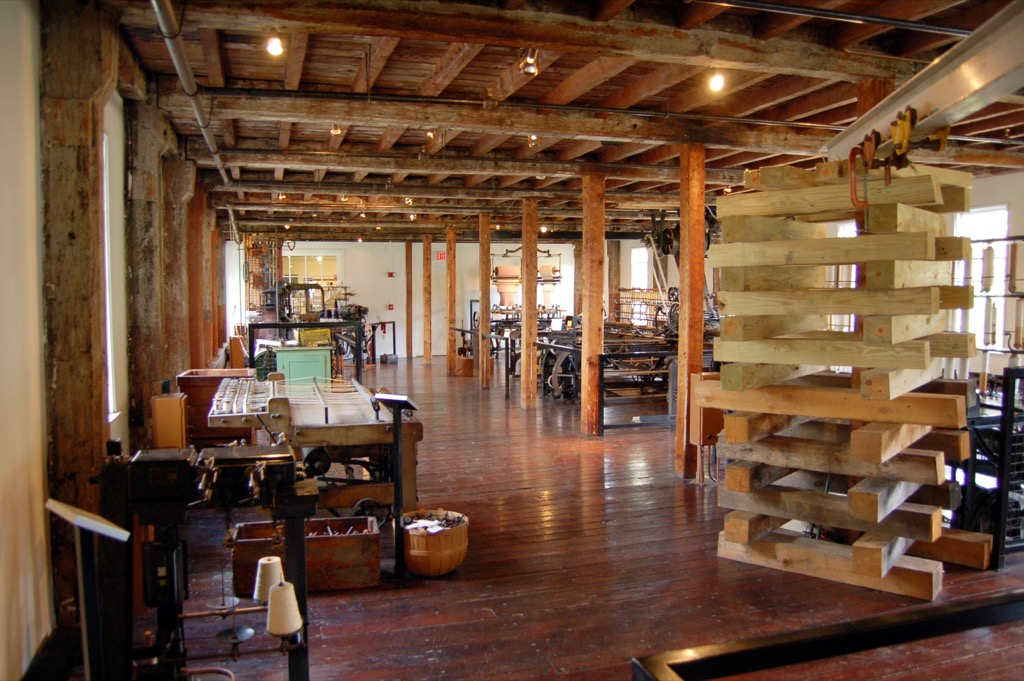 slater mill rhode island most historic location every state