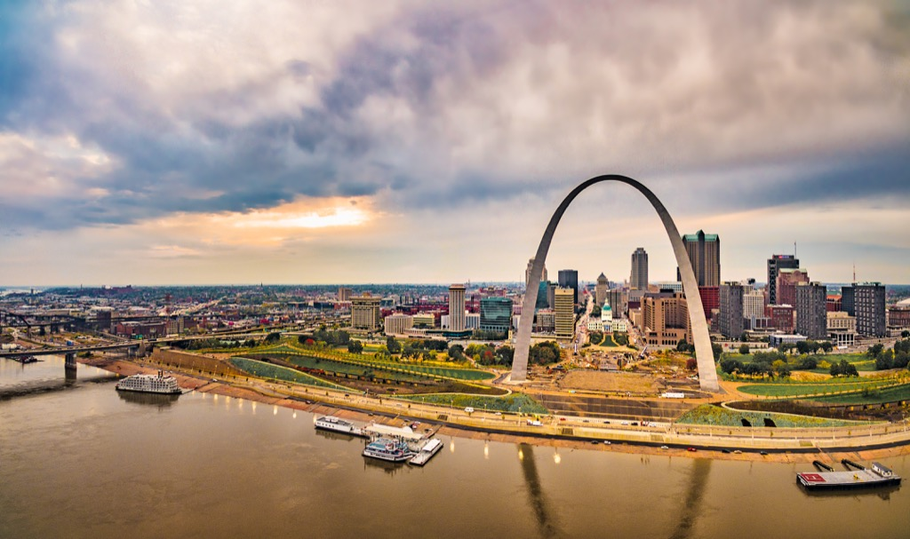 st. louis mo worst cities to drive in