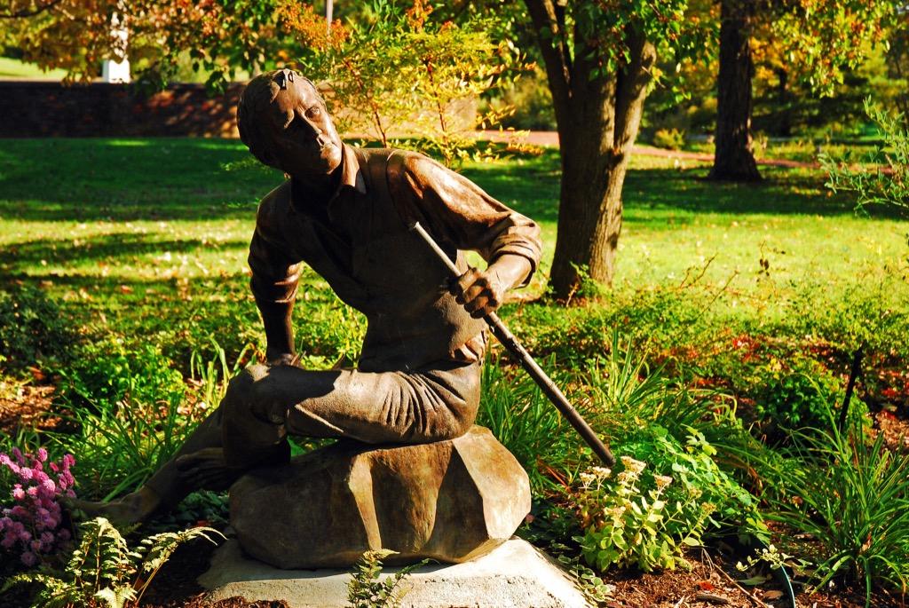 statue stephen foster
