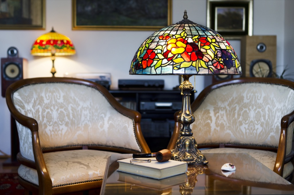 tiffany lamps outdated home design
