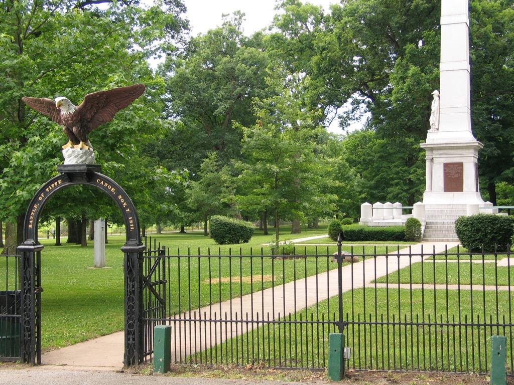 tippecanoe battleground most historic location every state
