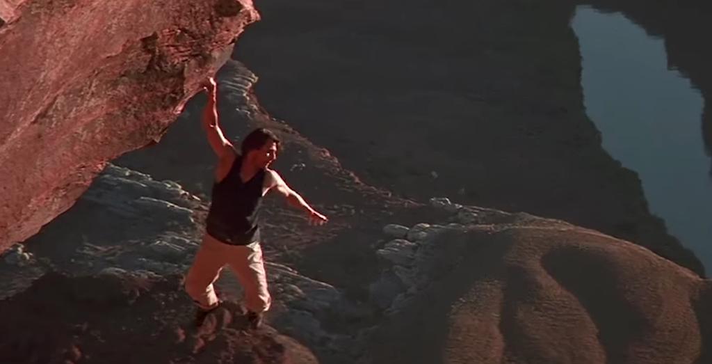 Tom Cruise Mission Impossible 4 stunt