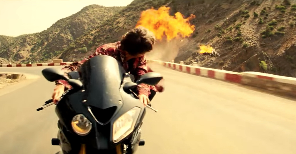 Tom Cruise Motorcycle