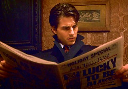 Tom Cruise Reading